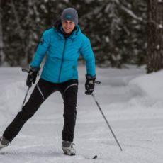 adult skier