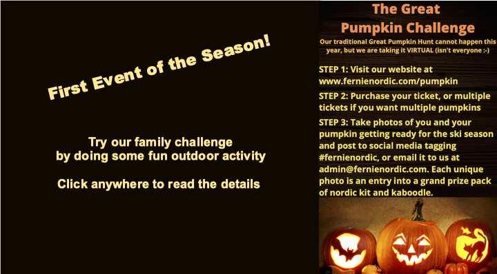 pumpkin challenge nordic
